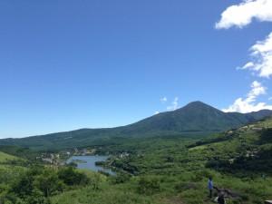 白樺湖 蓼科山