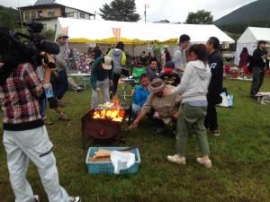 ウィスキー&ビアキャンプ2015 BBQ