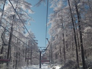 雨氷 エコーバレー