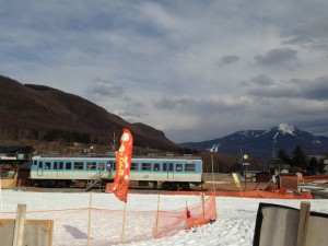 ブランシュたかやま 電車 クハ115-1106