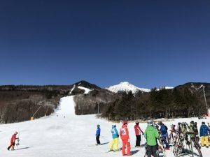 サンメドウズ スキー指導者研修会