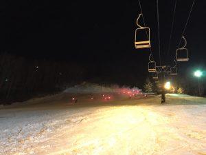 たいまつ滑走 エコーバレー ひめき雪まつり