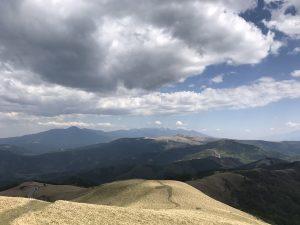 三峰山から和田峠へ