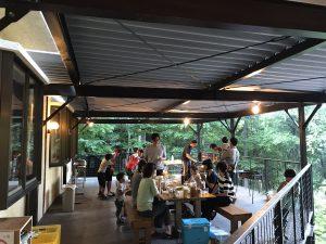 サマーキャンプ BBQ