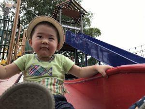 上田城跡公園 滑り台