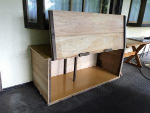 デッキ 物置&台 DIY