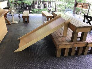 滑り台 DIY