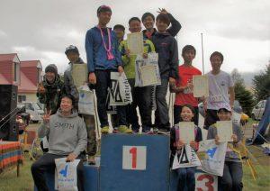 RUN&BEER NAGAWA トレイルランリレー 表彰式