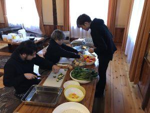 長野お泊まりライブ2018 BBQ仕込み