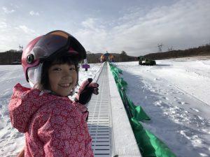 みずきちゃん スキーデビュー