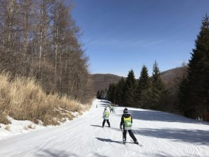 ブランシュたかやま スキー教室