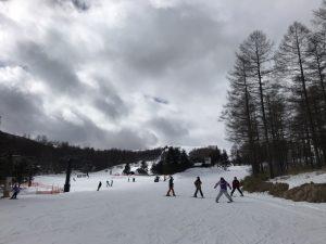 エコーバレー 高校生 スキーレッスン
