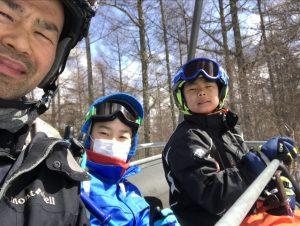 スキーレッスン ブランシュたかやま 兄チーム