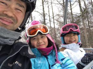 スキーレッスン ブランシュたかやま 妹チーム