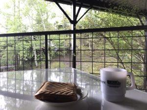 朝食 ホットサンドメーカー