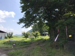 水沢峠入口