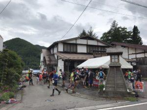 美ヶ原トレイルラン 和田宿エイド