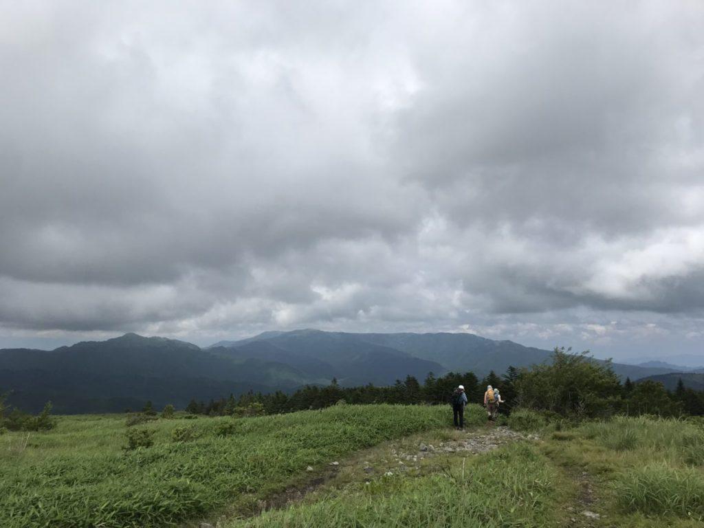 姫木平ハイキングコース 中央分水嶺トレイル