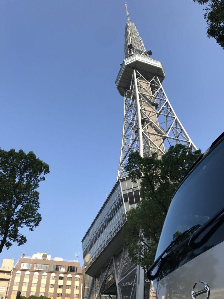 マラソン合宿 名古屋までマイクロバスでお迎え