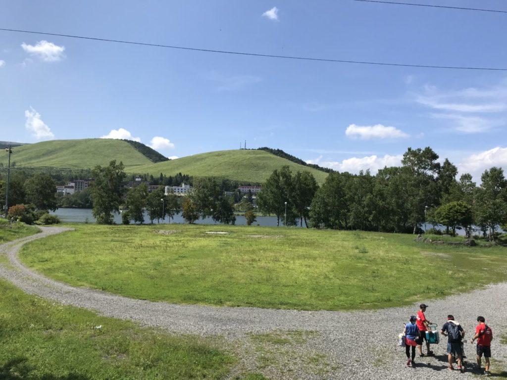 マラソン合宿 白樺湖