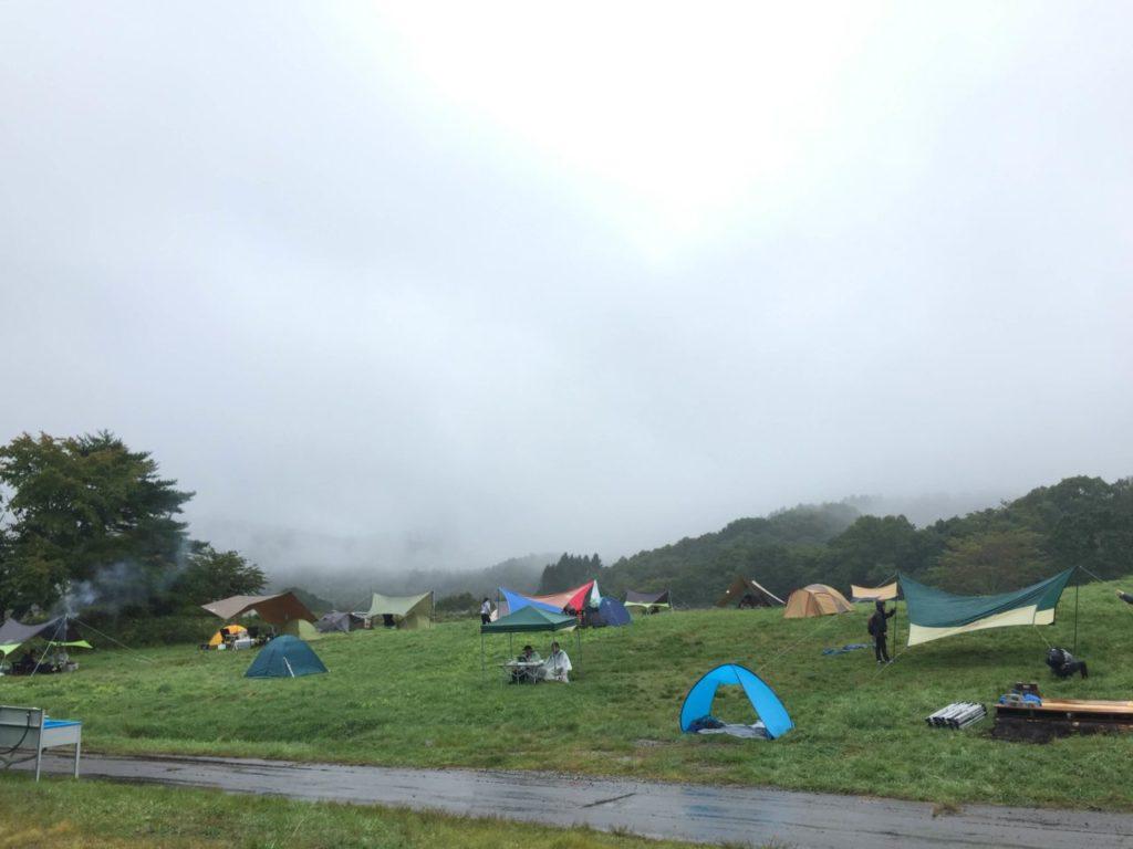 ウィスキー&ビアキャンプ2019 テント
