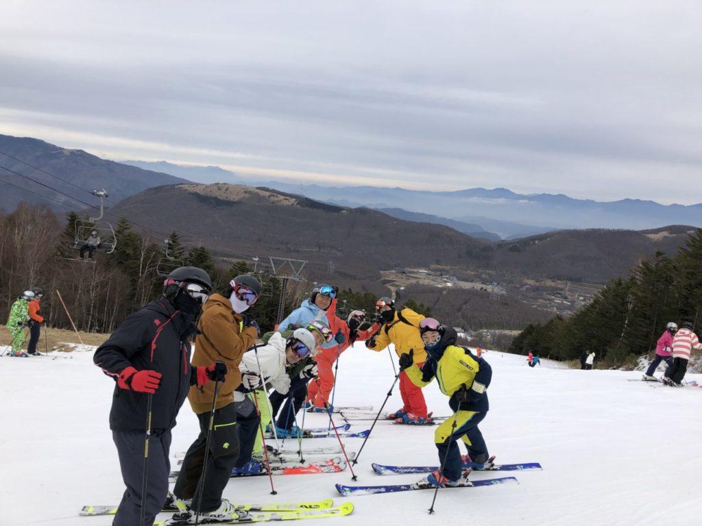 ブランシュ合宿 スキー
