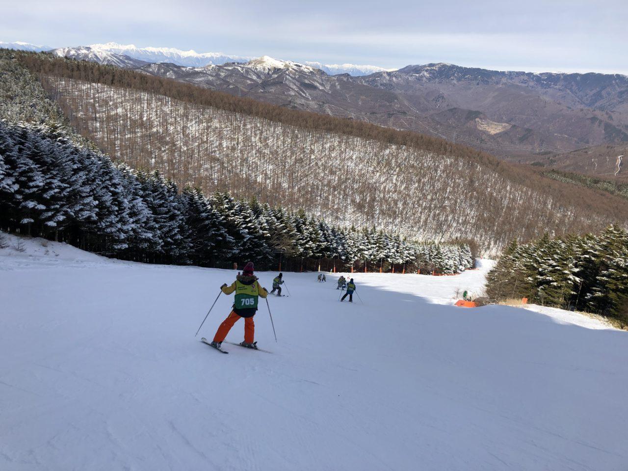 ブランシュたかやま スキー教室 上級班