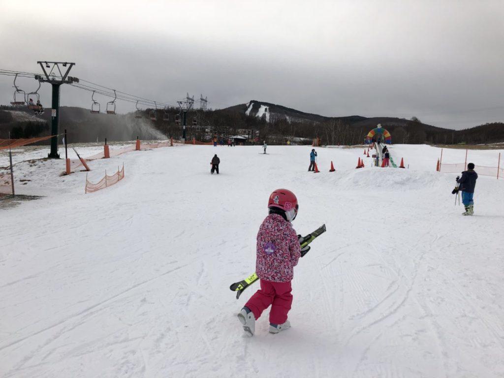 ブランシュたかやま 初スキー 無料レッスン