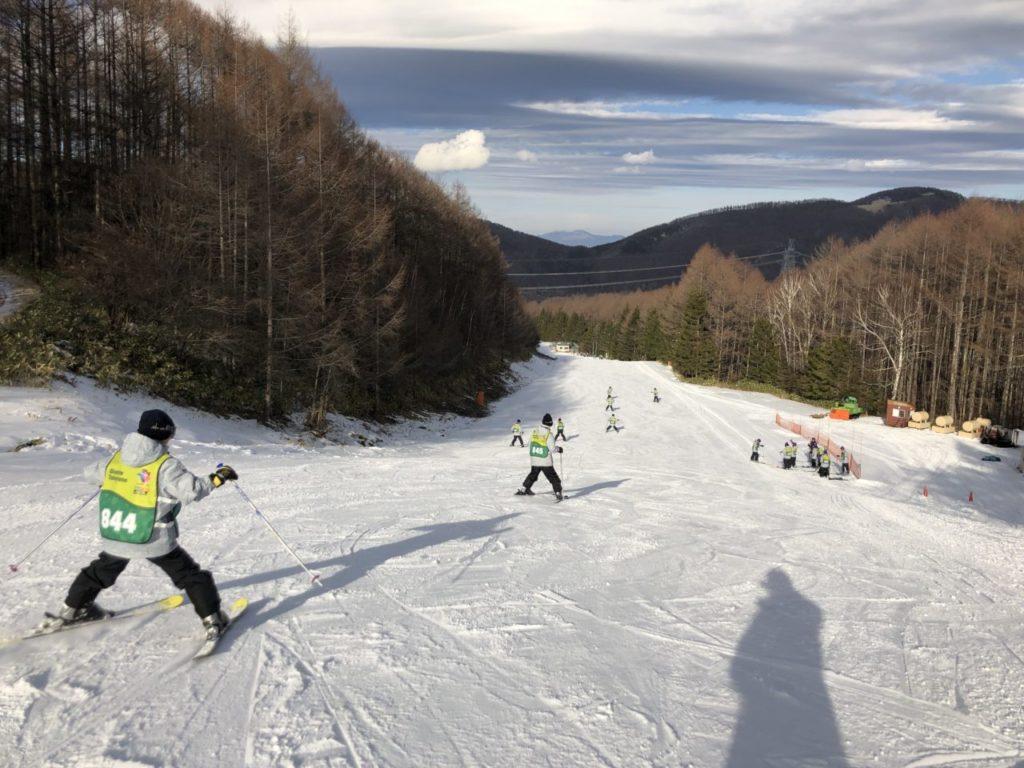 ブランシュたかやま スキー教室 スキー初めて