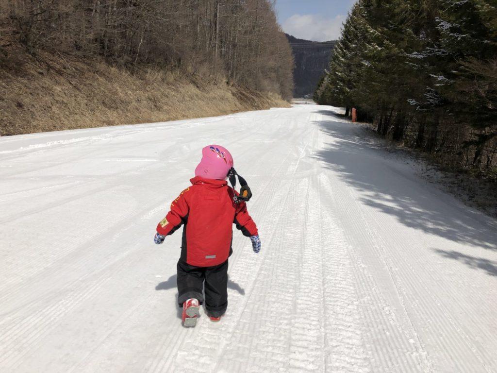 4才児 スキー3回目 ブランシュたかやま