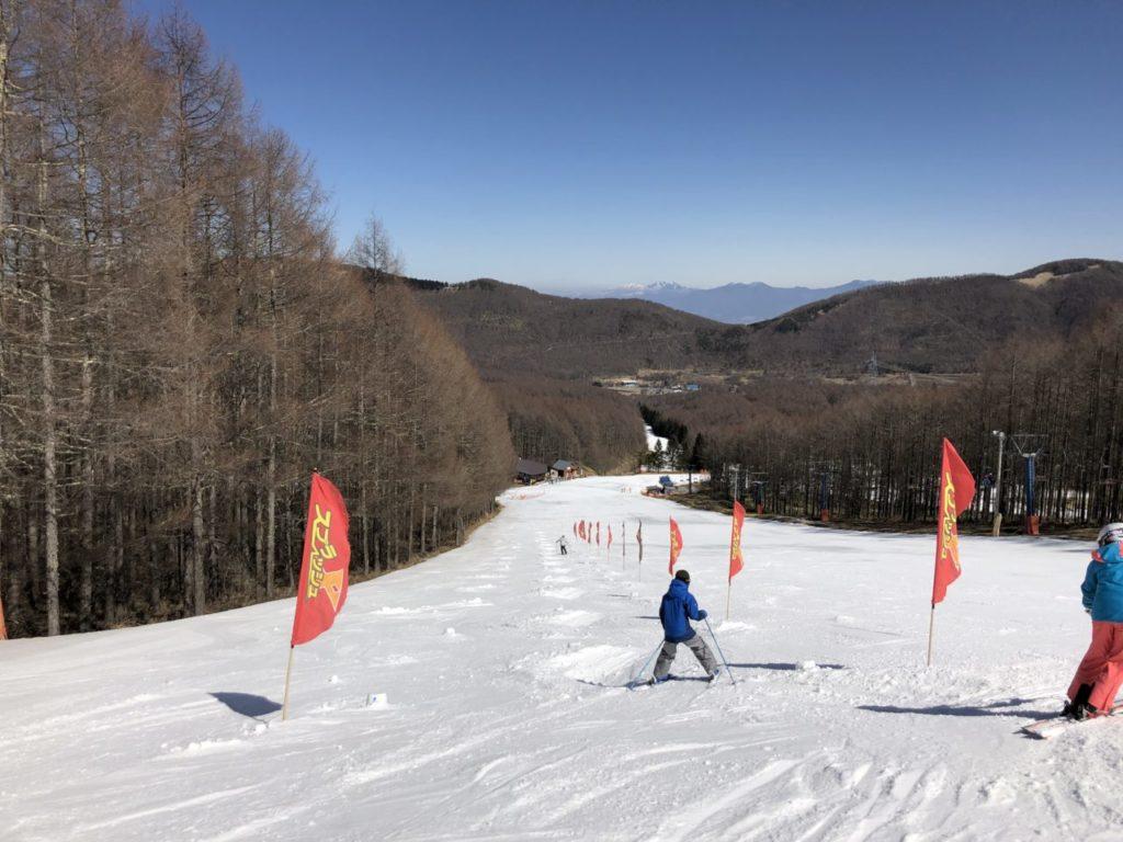 ブランシュたかやま スキー無料レッスン コブ