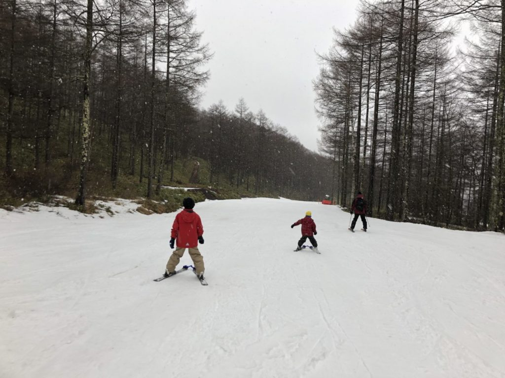 エコーバレー スキー無料レッスン