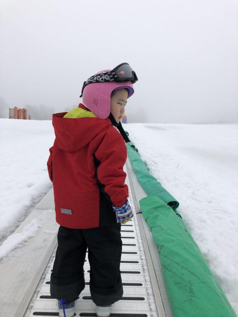 ブランシュたかやま スキー2回目