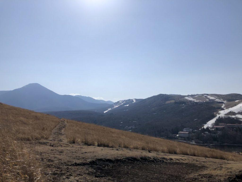 白樺湖 美ヶ原トレイルランコース