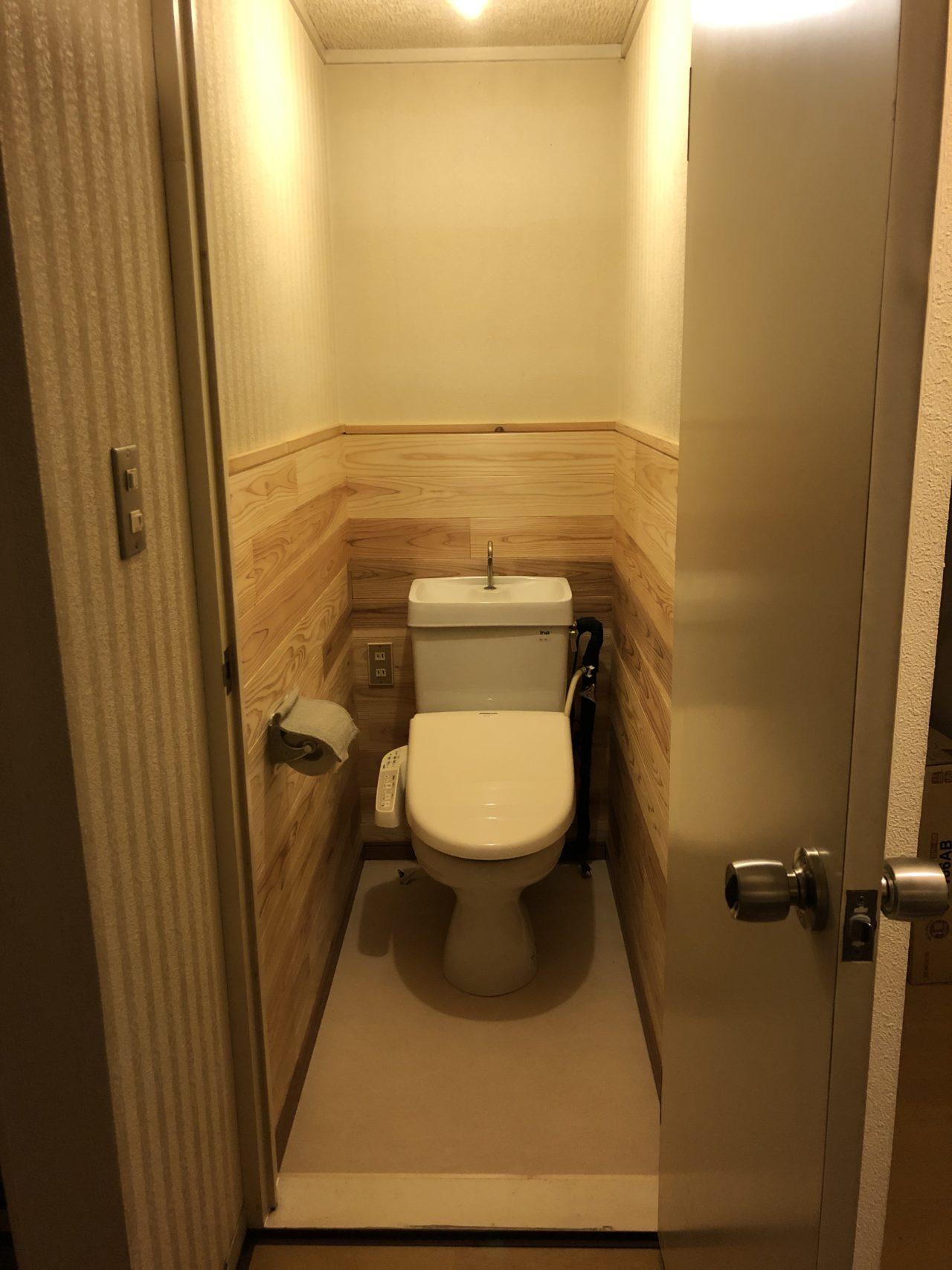 2Fトイレ改装 改装後