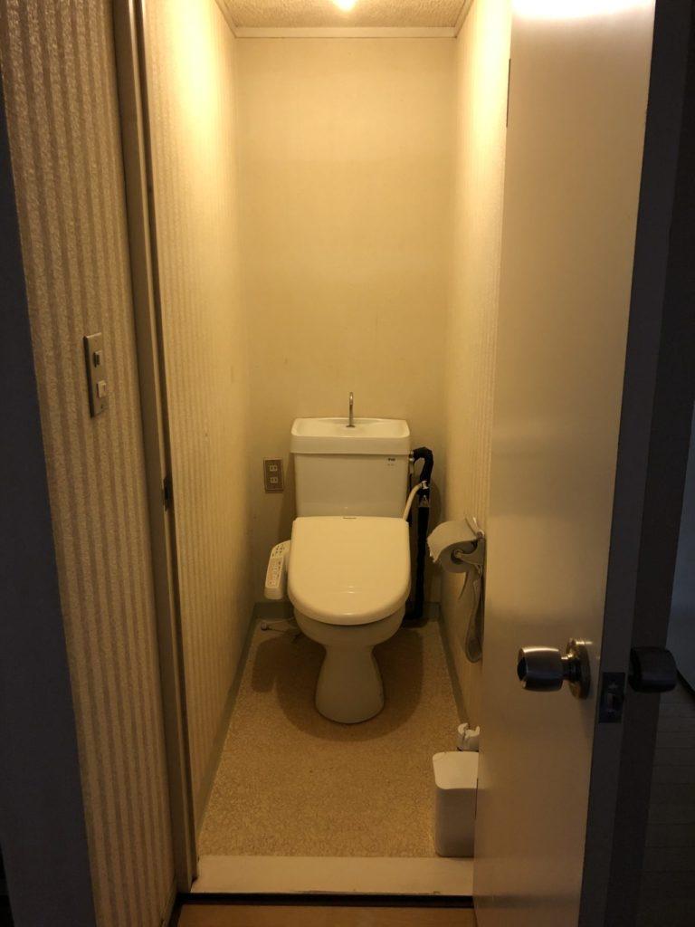 2Fトイレ改装 改装前