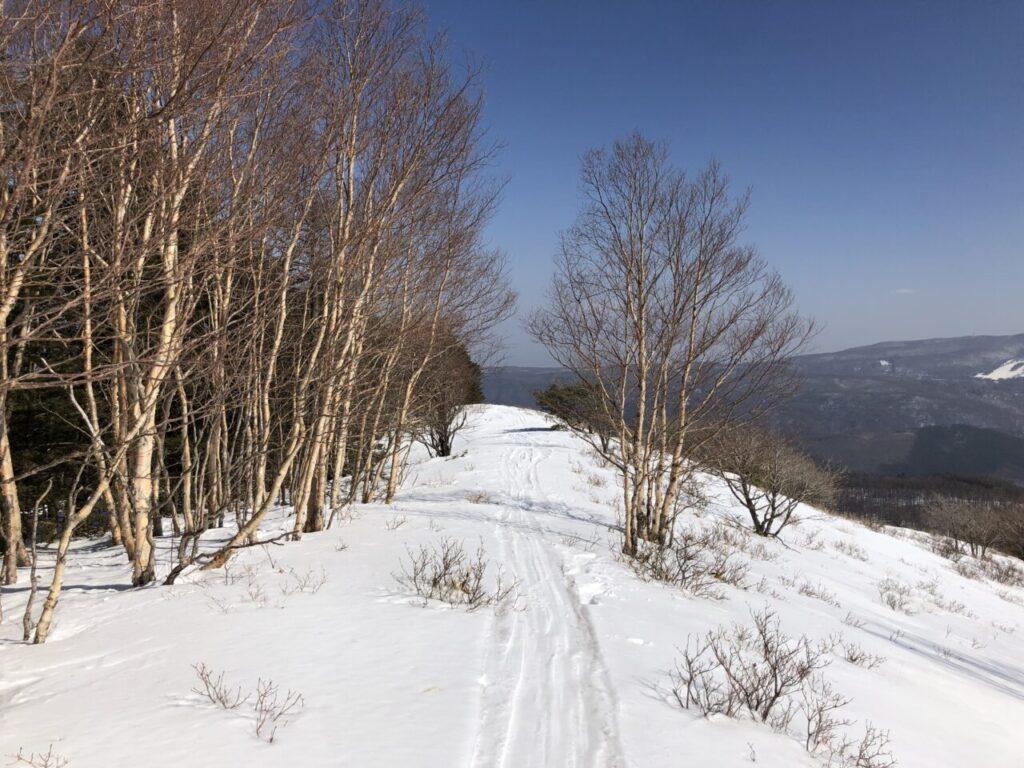 ブランシュたかやま 山頂でキャンプ