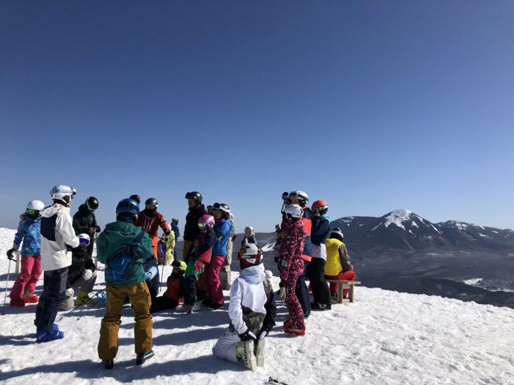 ブランシュたかやま合宿2021 山頂集合写真