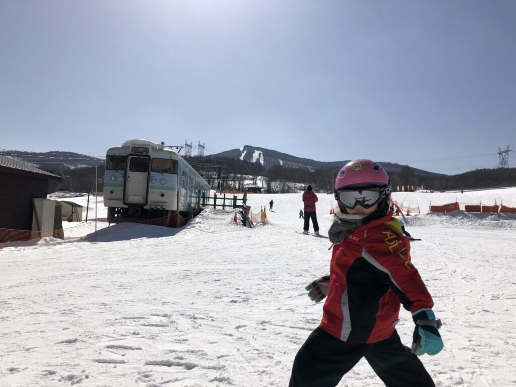 5才息子 スキー5回目