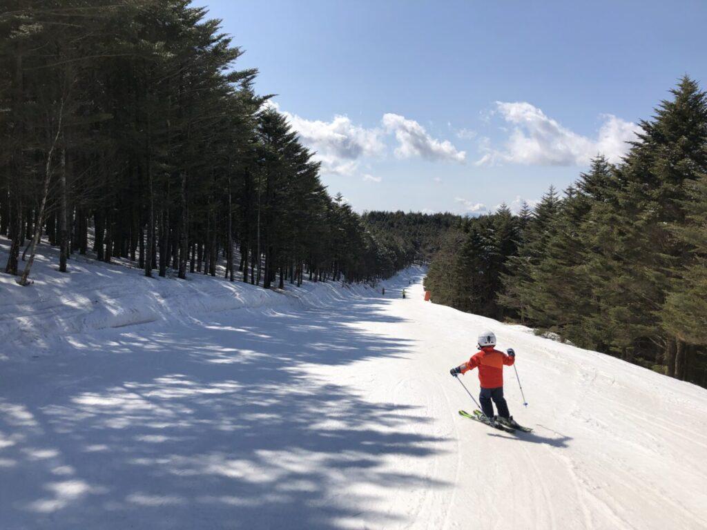 ブランシュたかやま 無料スキーレッスン ジュニア3級 6才