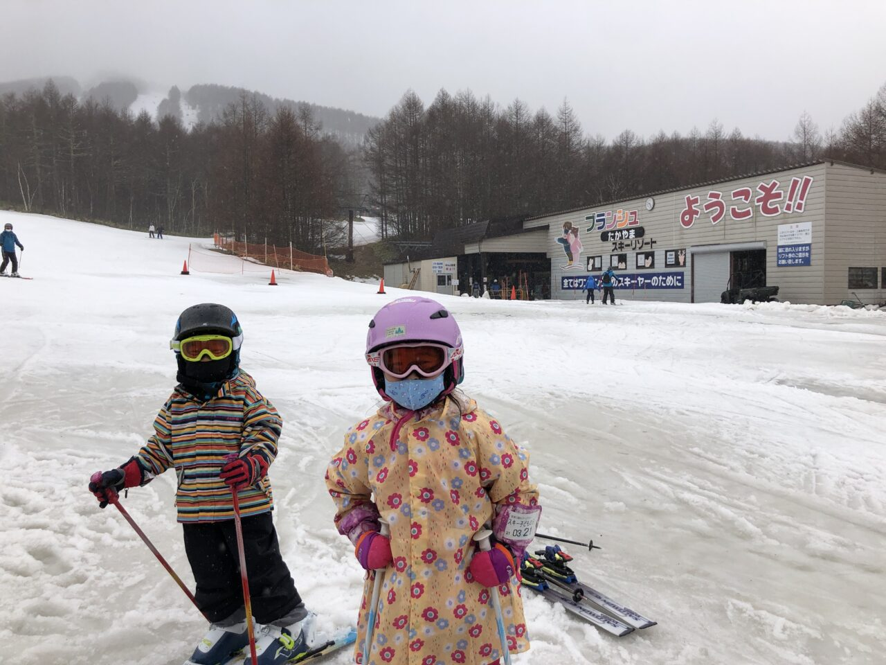 ブランシュたかやま 無料スキーレッスン 5才