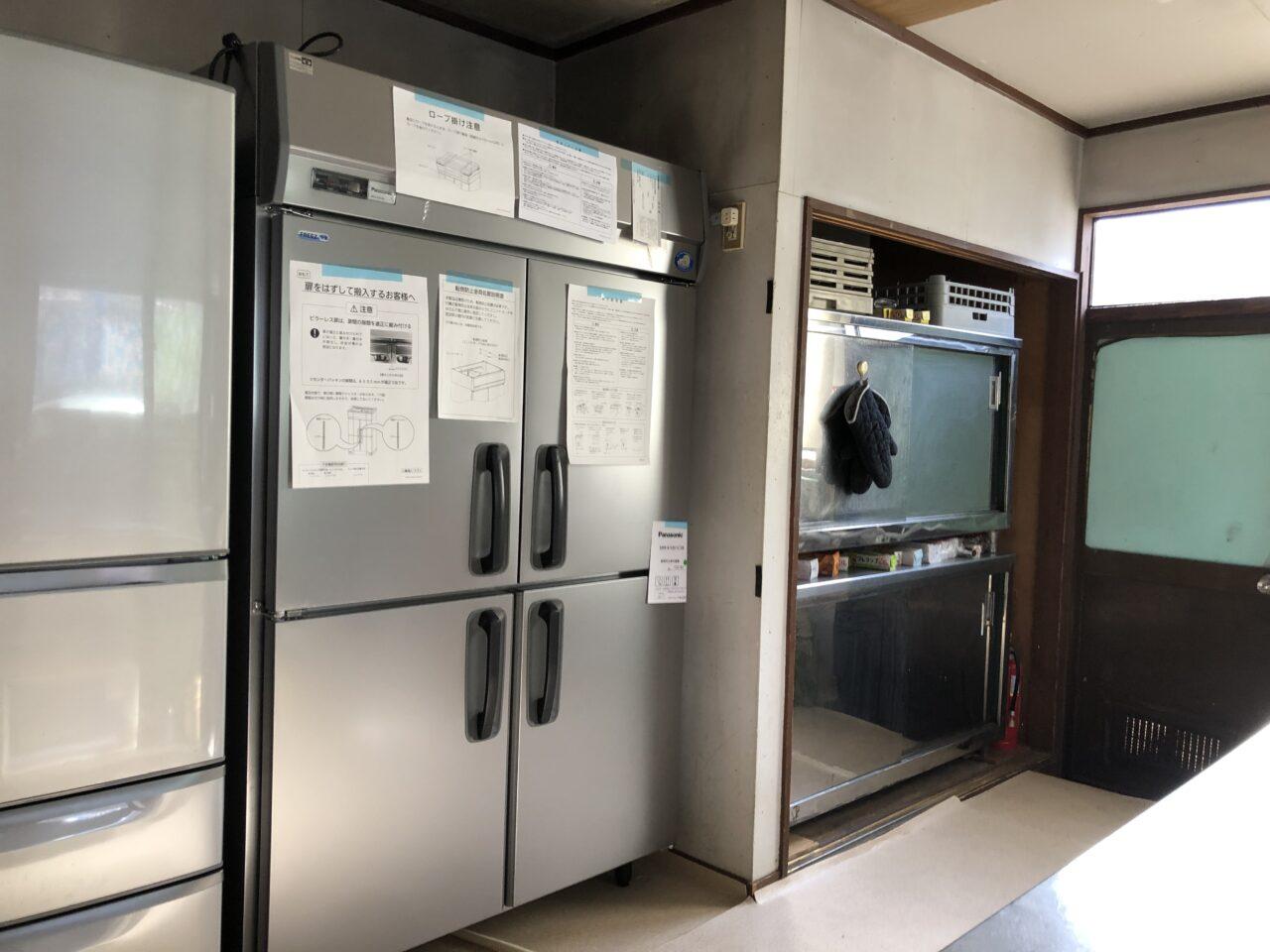 業務用冷凍冷蔵庫 入れ替え
